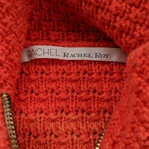 🔥SALE RACHAEL Rachael Roy Ombre cable zip sweater